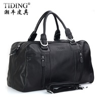 Cattle man bag large capacity business casual genuine leather travel bag one shoulder handbag luggage travel bag 1024