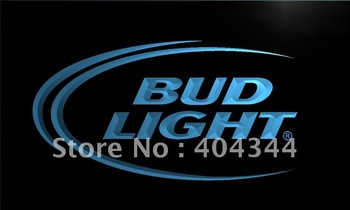 LE003-TM Bud Lite Beer Bar Pub Club Logo Neon Light Signs. Advertising. led panel