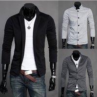 NEW autumn and winter,  figure flattering slim elegant cool knitted men's blazer jacket coat