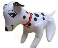 36 PCS Novelty Dalmatians Dog PVC Inflatable toys for children games Kids birthday gifts, air-filled Height 25cm