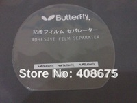 Wholesale 100pcs butterfly TT pingpang table tennis rubber protective film in stock