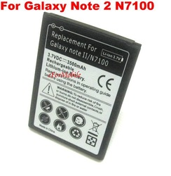 3500mAh Rechargeable Mobile Phone Battery Li-ion Battery For SAMSUNG Galaxy Note 2 N7100(China (Mainland))