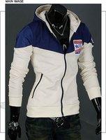 2012 NEW excellent quality, elegant cool men's hoodies fleeces jacket coat