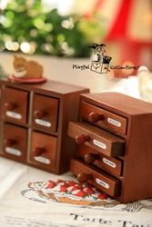 A1097 Free Shipping!NEW 2 style vintage Cabinet shape Wood stamp / Office Multi-purpose decoration DIY stamp /Wholesale(China (Mainland))