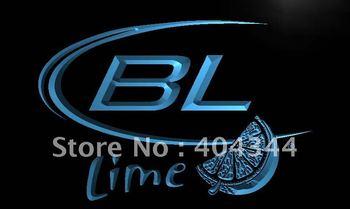 LE214- Bud Light Lime Beer Neon Light Sign     home decor shop crafts led sign