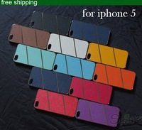 Чехол для для мобильных телефонов Leather Wallet Flip Stand Cover for Apple iPhone 5 5G Multi-functional case for iphone5