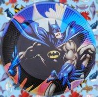 Party plate/cartoon series - batman chivalry theme