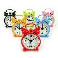 Fashion Mini Beautiful  Cute Desk Bell Alarm Clock / Free shipping 10pcs/lot