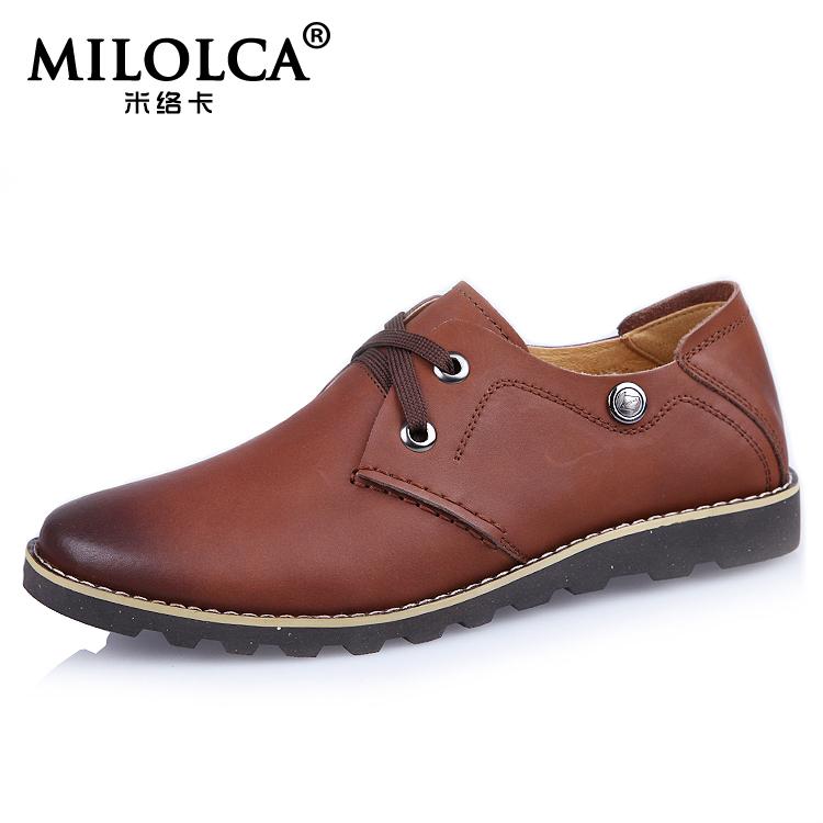Метров карты весна и осень мужской свободного покроя туфли из натуральной кожи ежедневно свободного покроя обувь 907