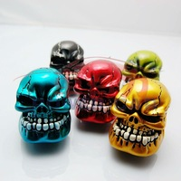 Free shipping COOL Style  SKULL Gear Shift Knob Set for Manual Transmission,5 Colors wholesale and retailer