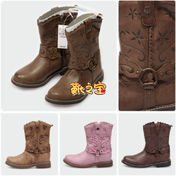free shipping Place child boots female child male child parent-child shoes women's shoes children shoes boots(China (Mainland))