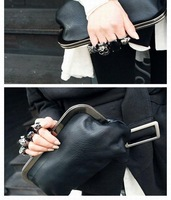 Hand bag Skull Ring Pack hand bag evening bag, factory direct sales, hot sales, free shipping