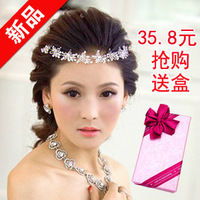 Crystal soft chain hair accessory the bride hair accessory rhinestone wedding dress marriage
