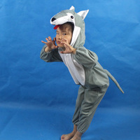 Child performance wear costume cartoon animal set animal clothes wolf clothes