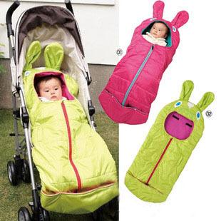 Retail Newborn sleeping bag Baby waterproof sleepsacks Baby Sleeping sack stroller/todder fleece wrap for winter