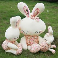 Plush toy rabbit rustic love rabbit doll birthday lovers gift