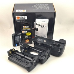 New DSTE Pro Battery Grip MB-D11 for Nikon D7000 Camera + EN-EL15 ENEL15 Battery Free Shipping(China (Mainland))