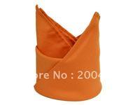 polyester plain napkin chocolate orange color  for wedding hotels