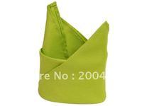 polyester plain napkin green color  for wedding hotels