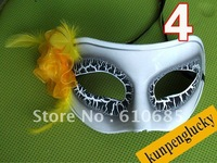 Party Mask Halloween Mask Birthday Party Flower&Feather Flaw Around Eyes Mix Order