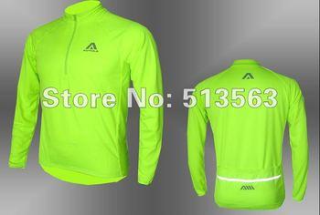 Free Shipping  2013 New AUTULA Reflective Breathable Quick Dry Cycling Clothing Biking Rain Cycling Jacket /cycling jersey