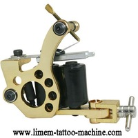 Wholesale Price New Arrival Handmade Tattoo Machines 10 Wrap Coils Tattoo Gun For Shader  and Liner  Free shipping