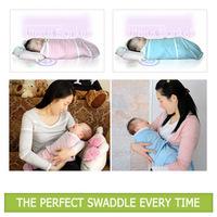 Hot selling 24pcs/lot Baby 100% cotton swadding blanket/wrap,envelope for children,infant blanket,sleeping bag+Free shipping