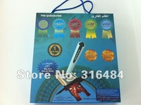 Free shipping.quran read pen M004 with big quran size book can read word by word 4GB with newest features, best service.