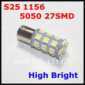 S25 1156 27LED 5050 SMD White 12V Automotive Led Auto Bulb,Led Auto Lamp,Led Car Lighting
