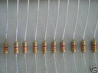20PCS 1/4W 3300ohm 3k3 5% Carbon Resistors