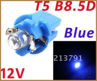 T5 B8.5D Car LED Indicator Light Gauge Speedo Dashboard Side Interior Lamp Bulb,100pcs/lot,free shipping