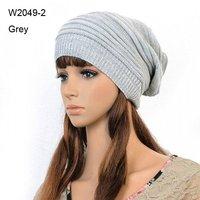 Retail Winter Mens Knit Caps Women Knitted Slouch Beanie Cap Slouchy Oversized Beanies For Men Womens Crochet Hats Cool Skullcap