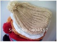 winter warm wool cap.multicolor unisex warm cap.colors.free shipping!