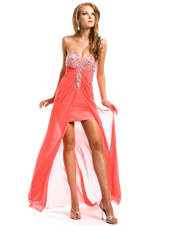 Coral Colored Formal Dresses Short Dress Images