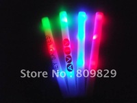 customize logo hot sale free shipping led flashinh foal stick for wedding led party light 200pcs/lot