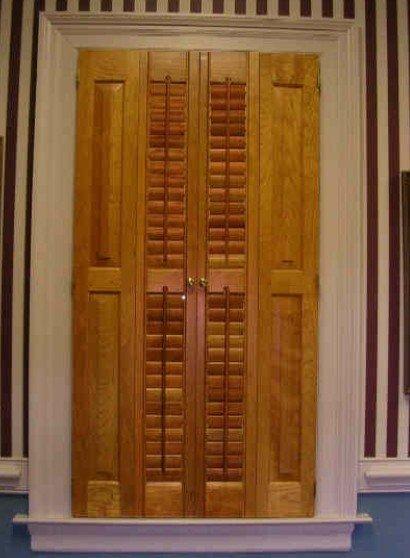 Wooden Door Shutter(China (Mainland))