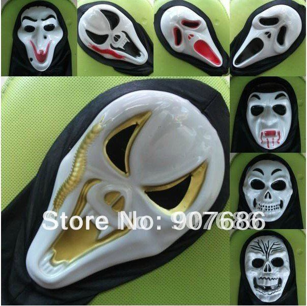 Hot Sale Halloween Mask Ghost Horror Bleeding Scream Face Mask Party Costume Christmas Prom #3598(China (Mainland))
