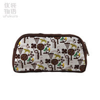 Free shipping- Cosmetic bag print women's handbag bags a030 39