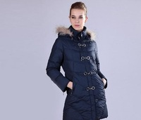 Free shipping/2012 Hot patchwork wintage color rabbit fur long-sleeve overcoat ,O-705