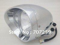 Motorcycle Chrome Headlight