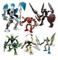Free shipping Hot sale 3pcs/lot super heroes Rock Skall  robots, star war bionicle robots, creative toy robot