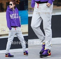 2012 new fashion sporting trousers for women ladies' casual pants 5 colors free shipping T-TW1