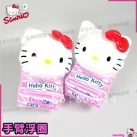 2 PCS hello kitty Baby Infant inflatable Swimming Pool Accessories Swim Arm Ring Float Intex Piscina Toys 2-6 years