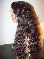 (free shipping + top quality )2#20inch body wave Remy 100% indian human wigs Front Lace Wig glueless Wig  bw50-4