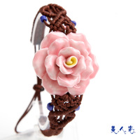 Sweets porcelain accessories ceramic bracelet porcelain bracelet national trend unique gift
