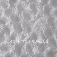 Free Shipping 1000pcs White Rose Petals Wedding Chrismas Party Decorations