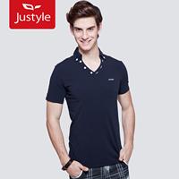 2012 summer casual solid color V-neck slim short-sleeve men's T-shirt,10 pieces/lot,free ship
