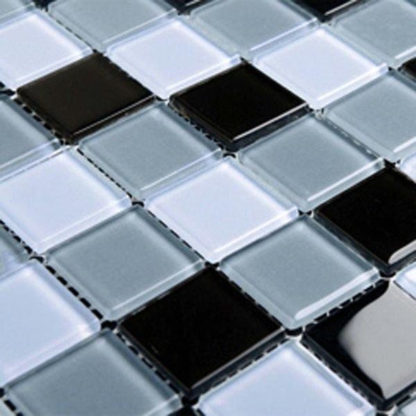 glass wall mirror blue pool tiles kitchen backsplash cheap glass