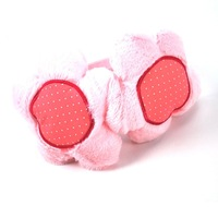 Free Shipping 2012 New Arrival Lovely SunFlower Pattern Plush Earmuffs Winter Fashion Ear warmer