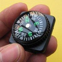 Free shipping,retail,5PCS, mini plastic  portable pocket  survival  compass
